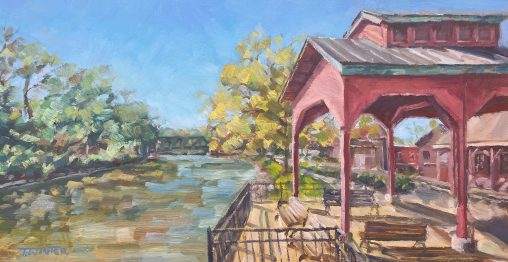 Port of Pittsford Painting