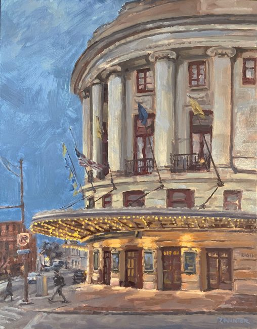 Eastman Theatre Painting